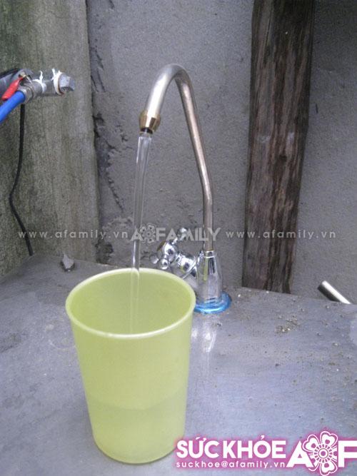 Nước tinh khiết cũng gây bệnh