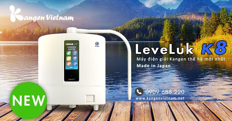 Máy lọc nước Kangen Leveluk K8