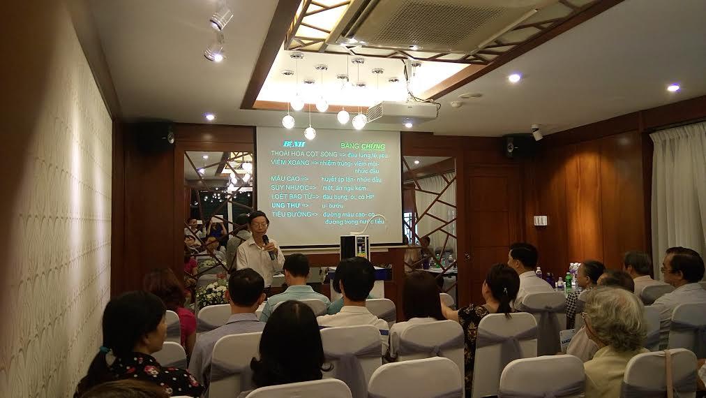 """Kangen Việt Nam tổ chức chương trình """"Điều trị toàn diện bệnh mãm tính bằng Đông y – Tây y"""