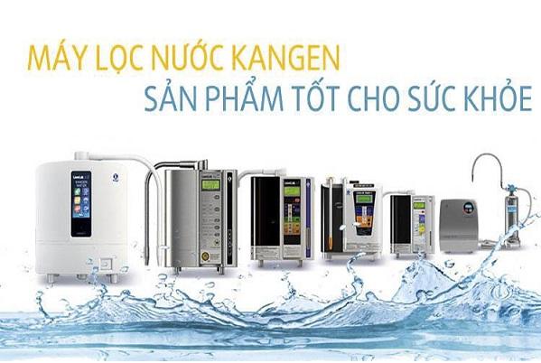 các model máy lọc nước Kangen