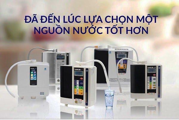 tổng hợp 6 mẫu máy lọc nước Kangen