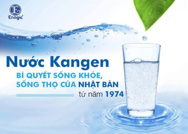công dụng của nước Kangen