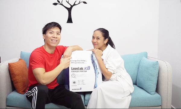 Vì sao vợ chồng Quốc Nghiệp – Ngọc Mai chọn mua máy lọc nước ion kiềm kangen K8?